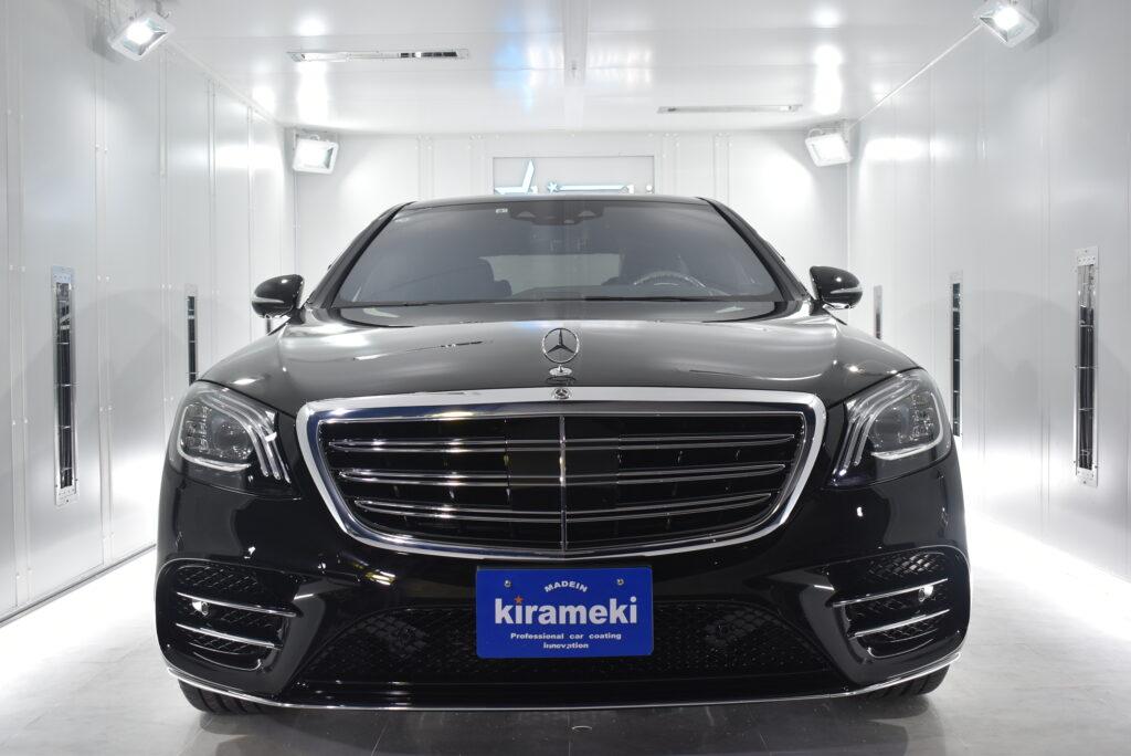 【Sclass】Mercedes-Benzカーコーティング大阪兵庫神戸