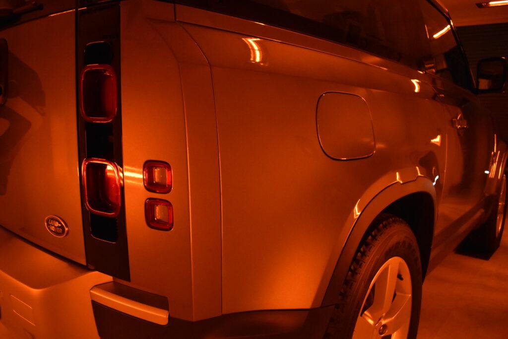 ディフェンダー90カーコーティング大阪兵庫神戸ガラスコーティング大阪兵庫神戸
