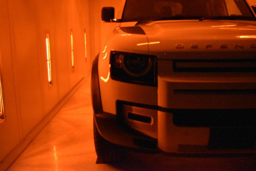 ディフェンダー110カーコーテイング大阪神戸兵庫ガラスコーティング大阪神戸