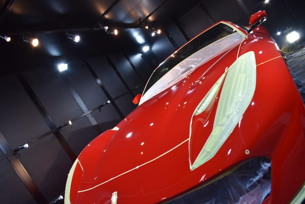 フェラーリ812カーコーティング大阪兵庫神戸ガラスコーティング大阪兵庫神戸