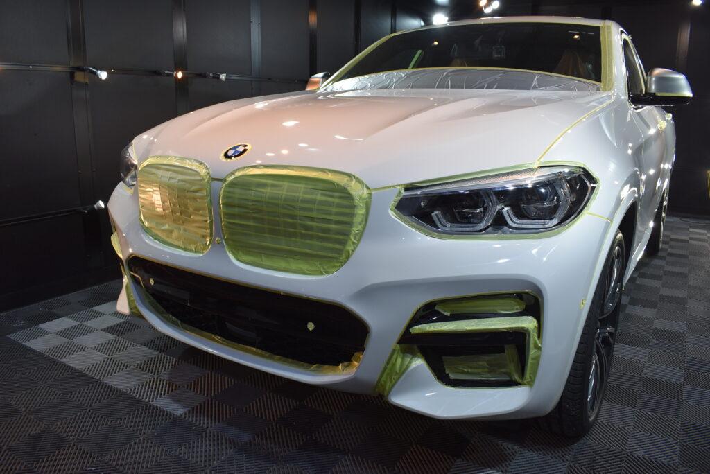 BMWX4カーコーティング大阪兵庫神戸ガラスコーティング大阪兵庫神戸