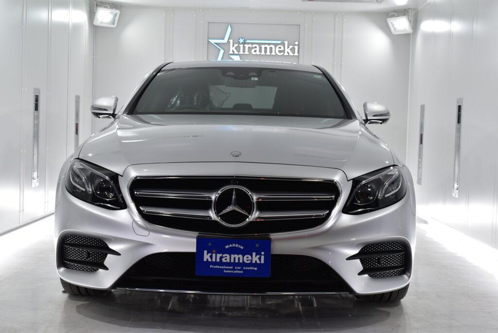 【Eclass】Mercedes-Benz コーティング大阪神戸