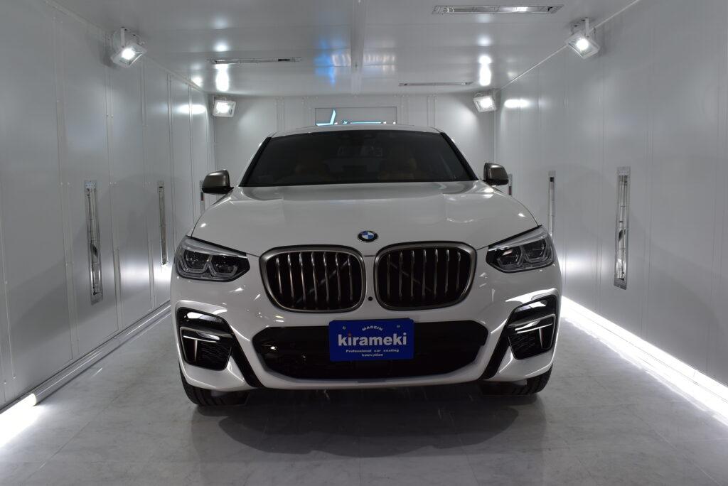 【X4】BMW カーコーティング大阪兵庫神戸