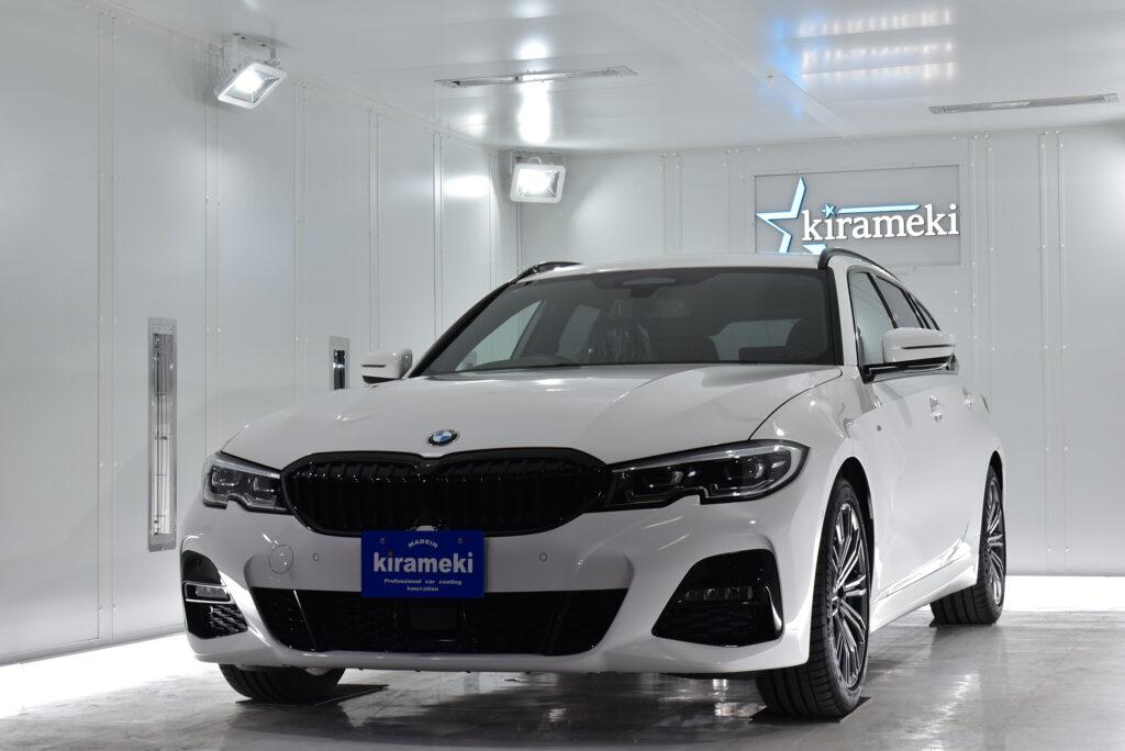 BMW3カーコーティング大阪兵庫神戸ガラスコーティング大阪兵庫神戸