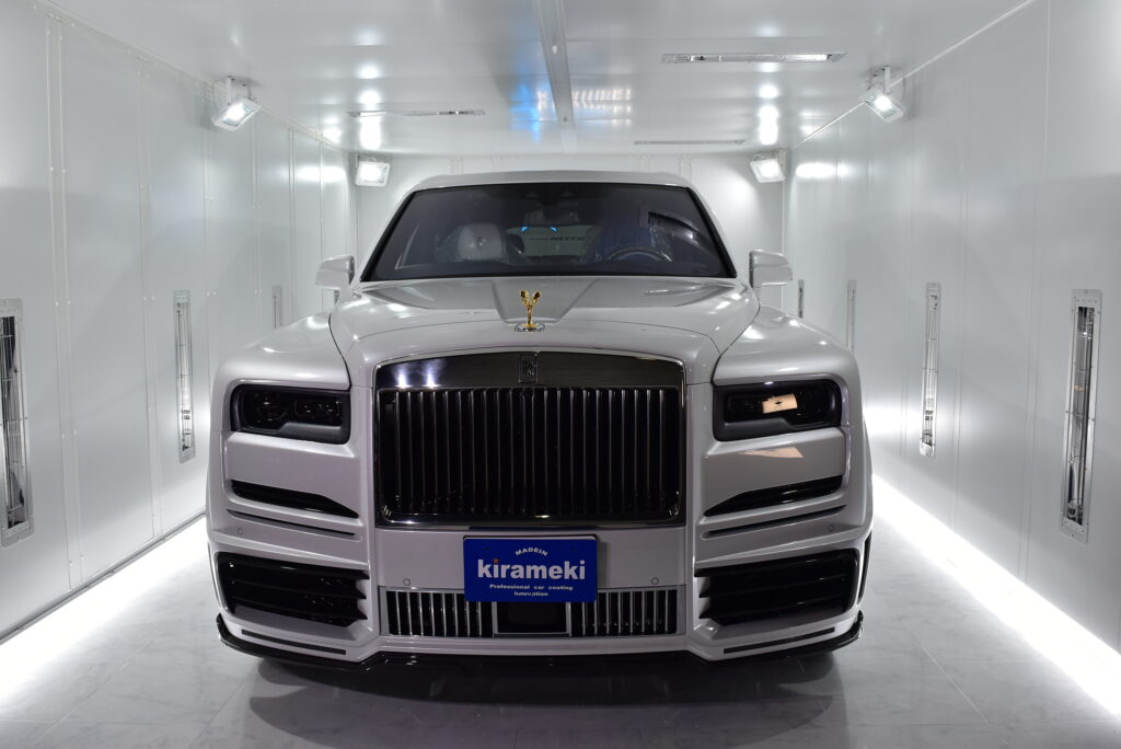 【Cullinan】Rolls-Royce カーコーテイング大阪神戸兵庫