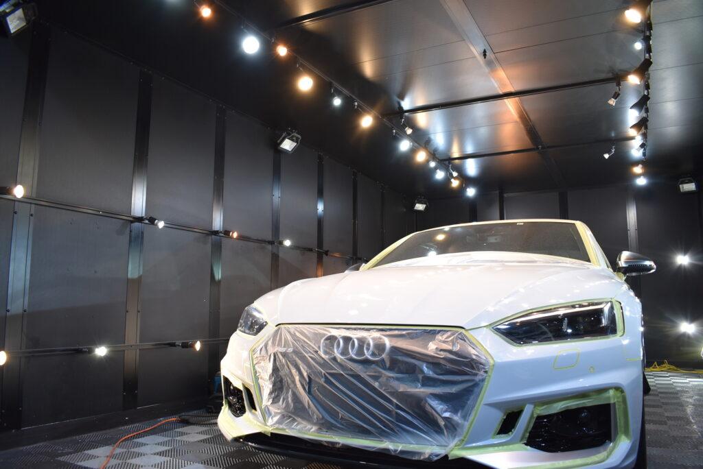 アウディRS5車カーコーティング大阪兵庫神戸ガラスコーティング大阪兵庫神戸