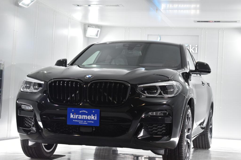 【X4】BMWカーコーティング神戸/大阪/兵庫