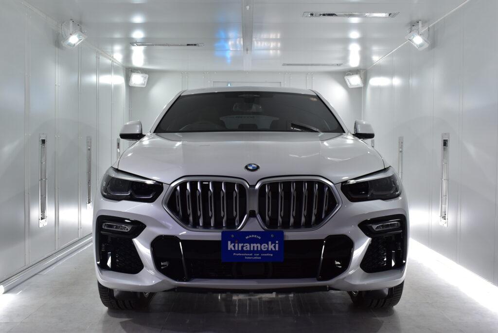 【X6】BMWカーコーティング大阪